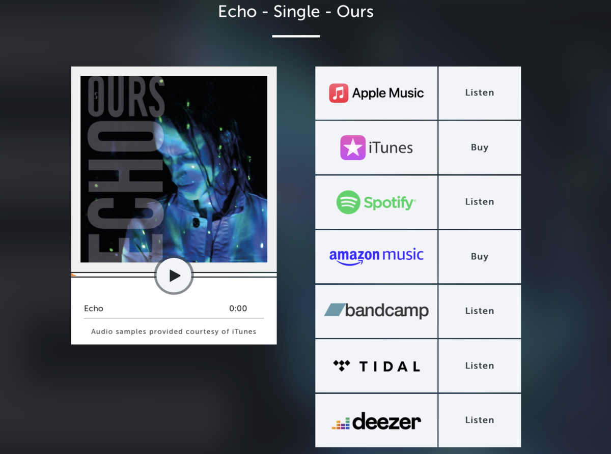 Echo – Single OUT NOW!